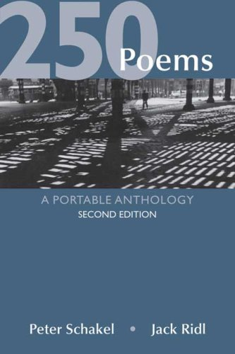 9780312466169: 250 Poems: A Portable Anthology