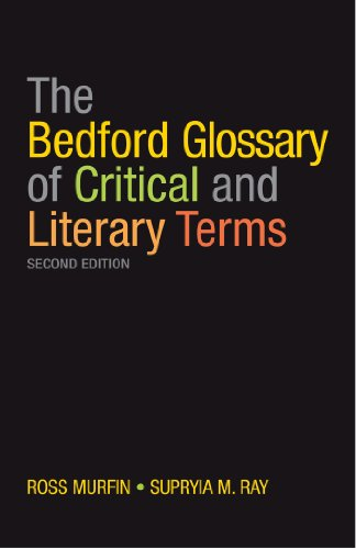 9780312467548: The Bedford Glossary of Critical and Literary Terms