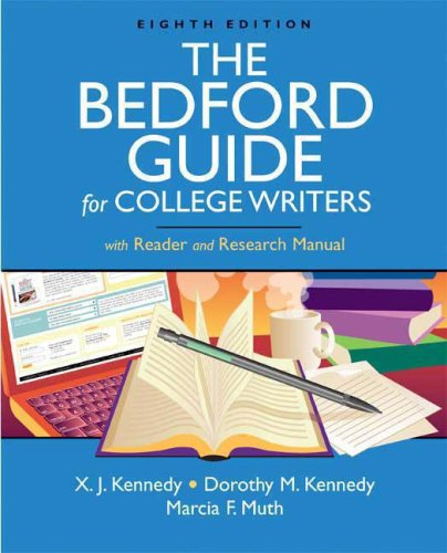 9780312469306 the bedford guide for college writers with reader and rh abebooks com bedford guide for college writers 11th bedford guide for college writers 11th