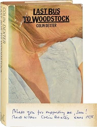 Last Bus to Woodstock: Colin Dexter