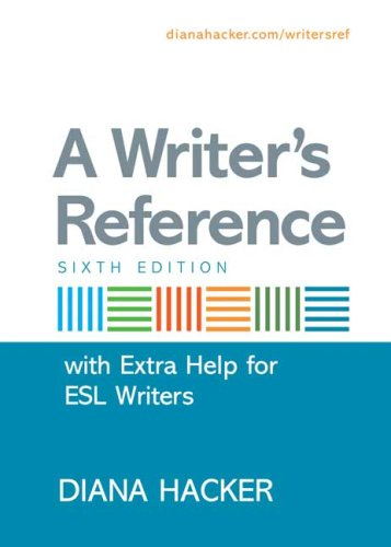 9780312471668: A Writer's Reference with Extra Help for ESL Writers