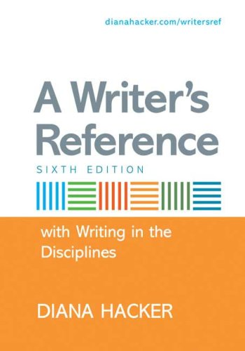 9780312471675: A Writer's Reference with Writing in the Disciplines