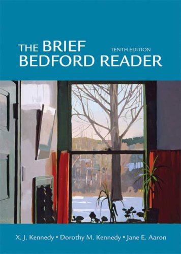 9780312472078: The Brief Bedford Reader