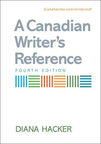 9780312472832: A Canadian Writer's Reference