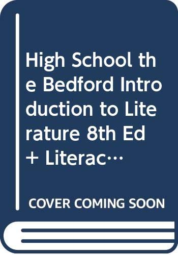 9780312473143: High School the Bedford Introduction to Literature 8th Ed + Literactive