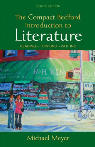 9780312474119: Compact Bedford Introduction to Literature
