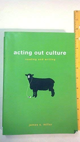 9780312474744: Acting Out Culture: Reading and Writing, Teacher's Edition