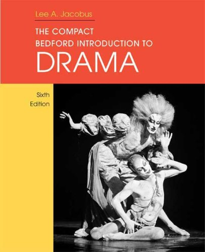 9780312474898: The Compact Bedford Introduction to Drama