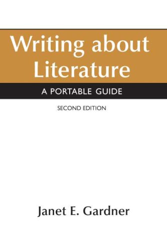 9780312474997: Writing About Literature: A Portable Guide