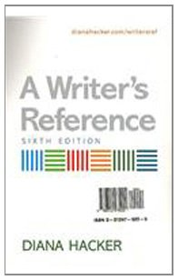 9780312475222: Writer's Reference 6e & Working with Sources & Developmental Exercises