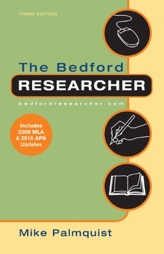 9780312475628: The Bedford Researcher