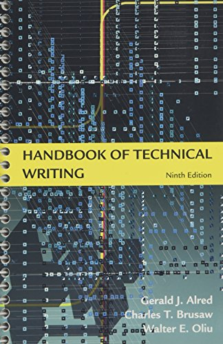 9780312477073: Handbook of Technical Writing