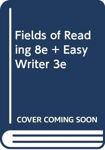 Fields of Reading 8e & Easy Writer 3e (0312478097) by Nancy R. Comley; David Hamilton; Carl H. Klaus; Robert Scholes; Nancy Sommers; Andrea A. Lunsford