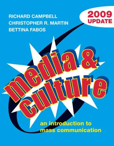 9780312478247: Media and Culture with 2009 Update: An Introduction to Mass Communication
