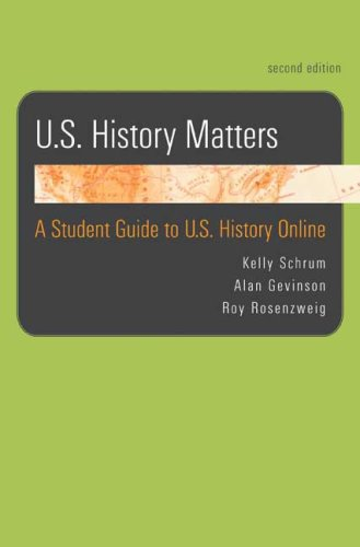 9780312478384: U.S. History Matters: A Student Guide to U.S. History Online
