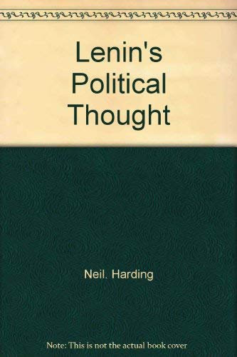 9780312479589: Lenin's political thought