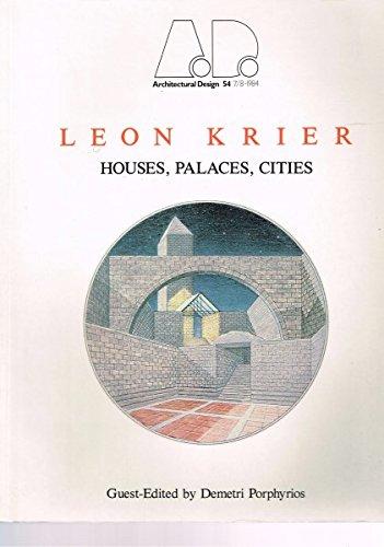 Leon Krier, Houses, Palaces, Cities: Krier, Leon; Porphyrios,