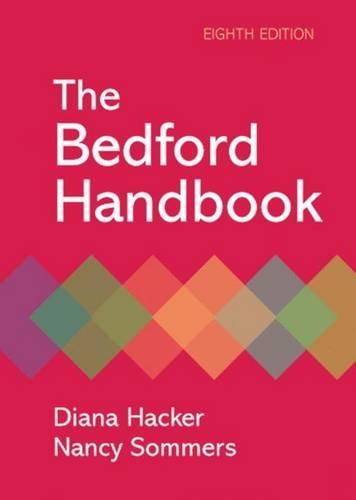 9780312480134: The Bedford Handbook