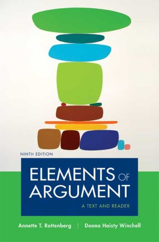 9780312480479: Elements of Argument: A Text and Reader, Ninth Edition