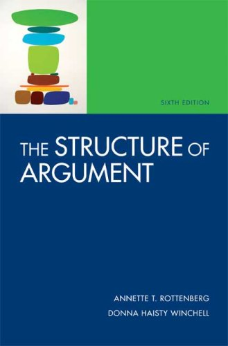 The Structure of Argument: Rottenberg, Annette T.;