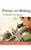 9780312480837: Focus on Writing: Paragraphs and Essays [With Supplemental Exercises to Accompany...]