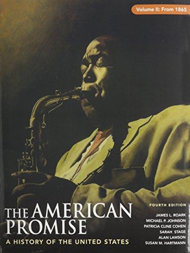 9780312481506: American Promise 4e V2 & Reading the American Past 4e V2