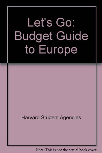 9780312481728: Let's Go: Budget Guide to Europe