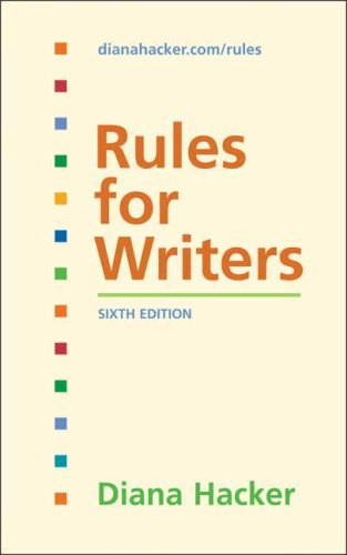 9780312485733: Rules for Writers