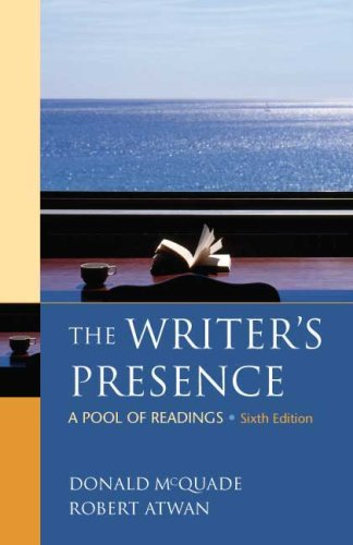 9780312486860: The Writer's Presence: A Pool of Readings