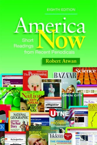 9780312486945: America Now: Short Readings from Recent Periodicals