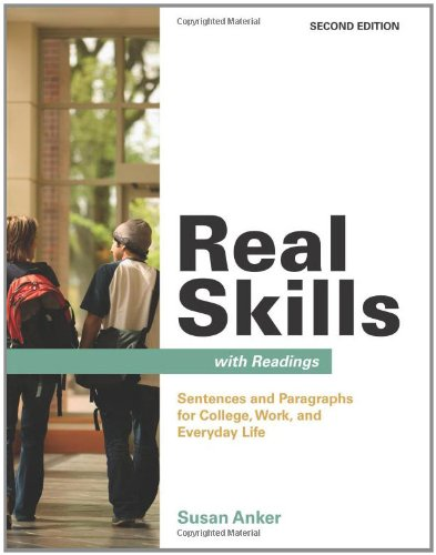 9780312487331: Real Skills with Readings: Sentences and Paragraphs for College, Work, and Everyday Life