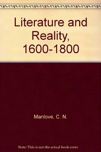 9780312487478: Literature and Reality, 1600-1800