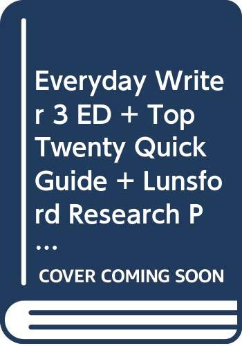 Everyday Writer 3e & Top Twenty Quick: Lunsford, Andrea A.;