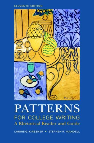 9780312488413: Patterns for College Writing: A Rhetorical Reader and Guide