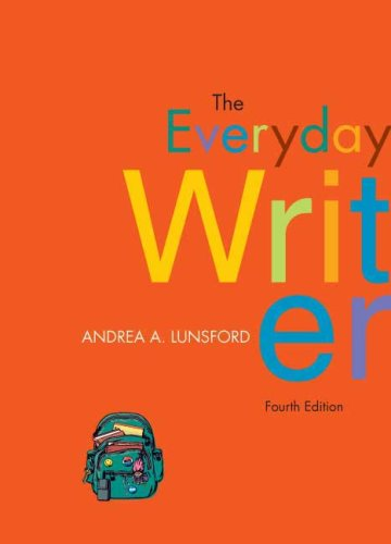 9780312488598: The Everyday Writer