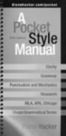 9780312489458: Pocket Style Manual 5e & MLA Quick Reference Card