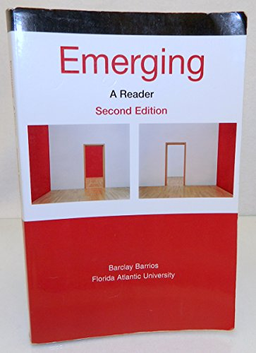 9780312489588: Emerging: A Reader 2nd Edition