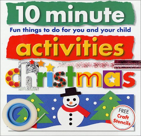 9780312490188: Christmas with Stencils (10 Minute Toddler)