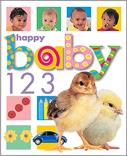 9780312490232: Happy Baby 123 (Priddy Bicknell Big Ideas for Little People)