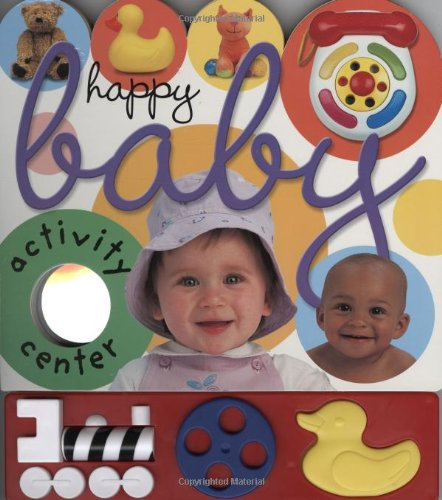 9780312490737: Happy Baby: Baby Activity Center [With Activity Bar]