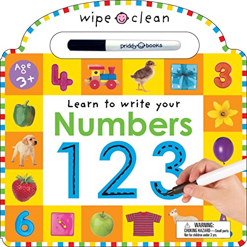 9780312492649: Numbers 1 2 3 [With Erasable Marker] (Wipe Clean)