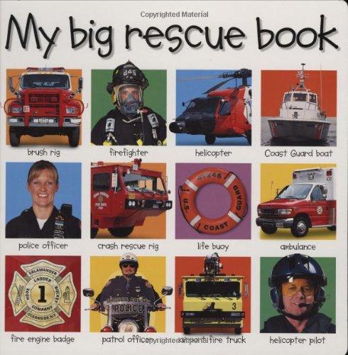 9780312493271: My Big Rescue Book (My Big Board Books)