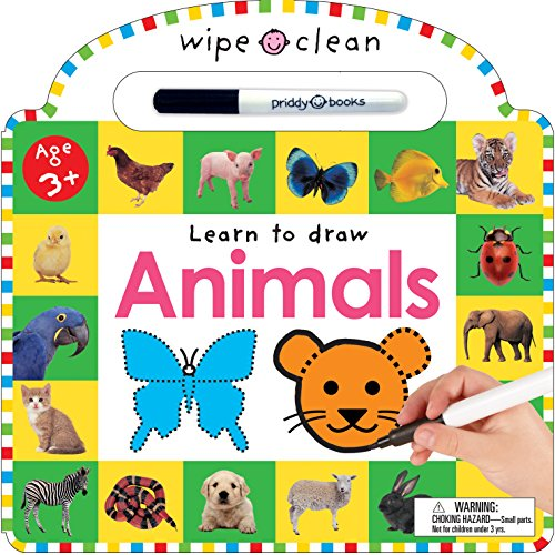 9780312494018: Wipe Clean Animals (Wipe Clean Learning Books)