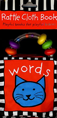 Rattle Cloth Book Words (0312494513) by Priddy, Roger