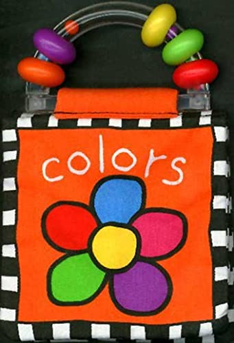 9780312494520: Rattle Cloth Book Colors (Priddy Books Big Ideas for Little People)