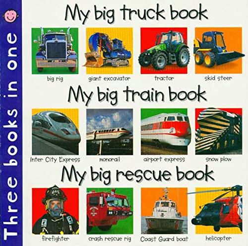 3 in 1: My Big Truck, Train, Rescue: Priddy, Roger