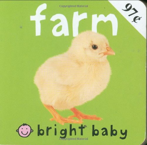 Chunkies Bright Baby Chunky: Farm: Priddy, Roger