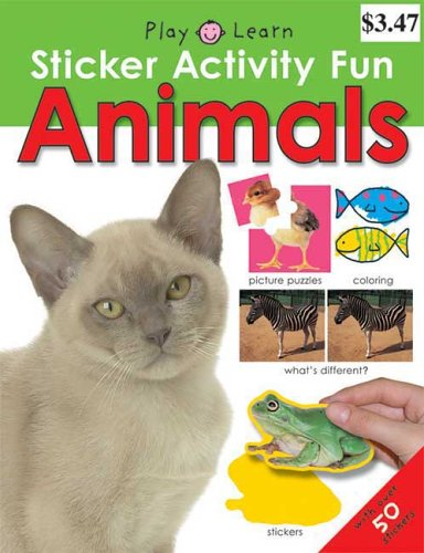 Sticker Activity Fun Animals (Play Learn Sticker: Roger Priddy