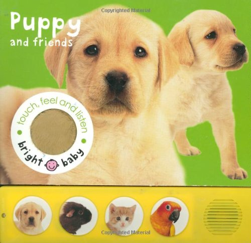 9780312496753: Bright Baby Touch, Feel and Listen: Puppy