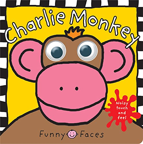 Funny Faces Charlie Monkey (0312496923) by Priddy, Roger